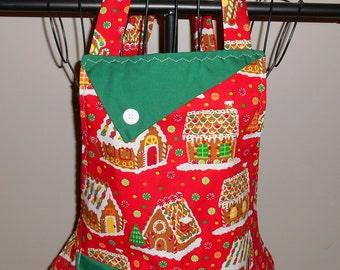 Gingerbread Houses Women's Apron
