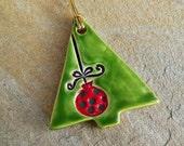 Christmas Sale,  Christmas Ornaments, christmas tree ornaments, christmas clearance, butterfly decor, holiday decor, ceramic ornaments