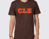 Cleveland Browns CLE Brown and Orange T-Shirt ( Cleveland Browns Football, Cleveland Browns Shirt, Browns T-Shirt, Johnny Manziel T-Shirt )