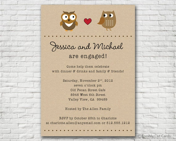 Free Engagement Party Invites. Bunting Free Printable Wedding
