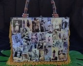 The vintage style Hula Girl Photo purse
