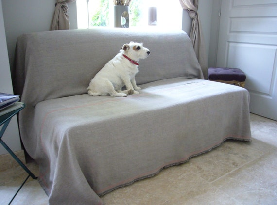 linen couch cover sandy custom color deco stitch pet couch