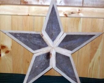 RUSTIX  BARNWOOD STARS