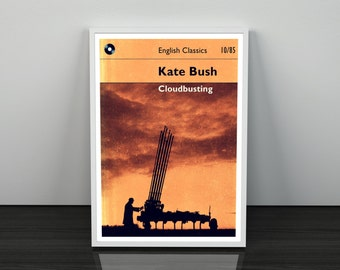 Cloudbusting Kate Bush inspired Art Print