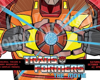 Transformers The Movie - Poster Print