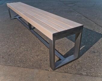 "3"" Maple Slat Bench"
