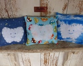 Tooth Fairy Pillow - Your Choice: Stars/Moons, Cars or Clouds