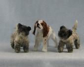 Three custom dogs