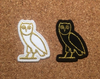 Mini Egyptian Owl embroidered patch LIMITED