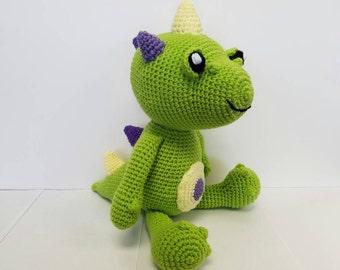 Crochet Baby Dino