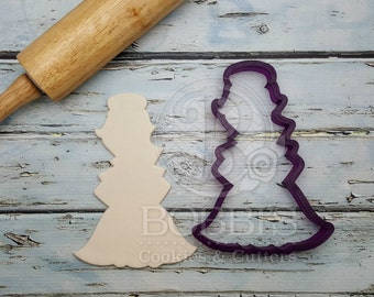 Miss Doughmestic Girl #5 Cookie Cutter or Fondant Cutter and Clay Cutter