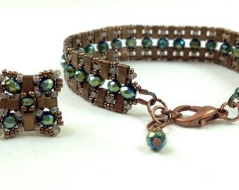 ensemble bracelet plus earrings