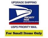 USPS Priority 2-3 Day Shipping for small items only