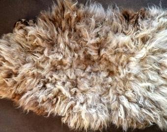 Felt pelt, living pelt, cruelty free hide, hide, pelt