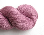 Lace Weight Silk Cashmere Recycled Yarn, Cashmere Rose, 730 yards, Lot 080516