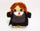 Harry Potter Severus Snape Draco Malfoy Ron Weasley or Hermione Granger Plush Doll Keychain stuffed toy