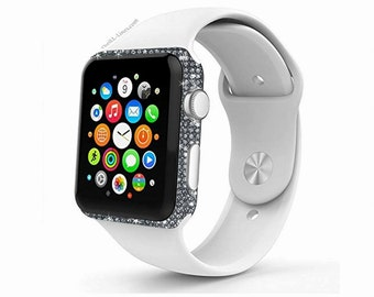 Apple Watch Customized with Swarovksi Elements
