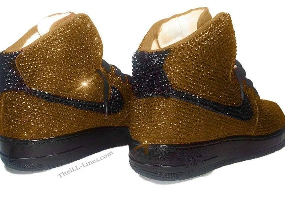 0ee5fd50e9f8 well-wreapped Custom Nike Shoes Nike Swarovski Rhinestone Nike by  TheILLlines