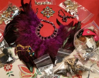 Shop closing sale vintage jewelry for reuse