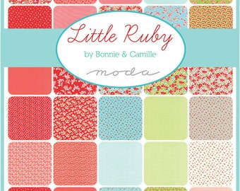 Moda Little Ruby Charm Pack by Bonnie and Camille. New Fabric Just Arrived