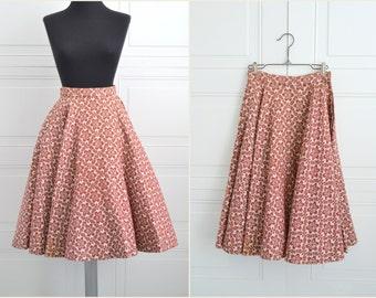 1950s Sport Whirl Circle Skirt