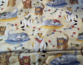 Pirate Kitties fabric from Timeless Treasures