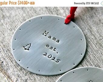 SALE Mom Ornament | New Mom Ornament | Christmas Gift For Mom | Mother Ornament | Dad Gift | Christmas Ornament | Ornament |