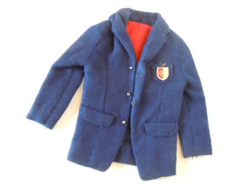 Ken Doll Navy Blue Jacket Mix and Match Victory Dance Jacket