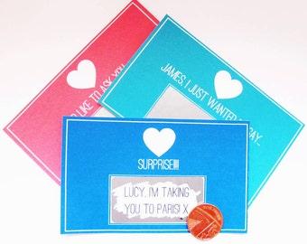 Message Scratch Card