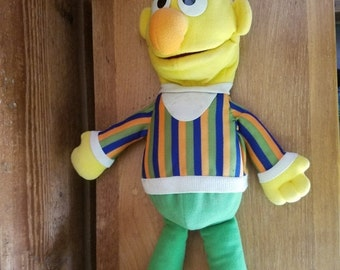 "REDUCED VINTAGE 1986 Playskool Price Bert 18"" Hand Puppet"