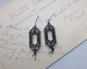 Steampunk Earrings Clockhands