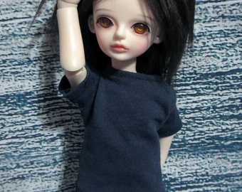 yoSD 27cm BJD Navy Blue shirt