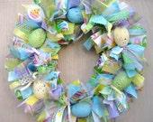 Easter Egg Wreath, Easter Wreath, Easter Decor, Easter Decoration, Spring Wreath, Easter Table Decor, Easter Centerpiece, Easter Home Decor