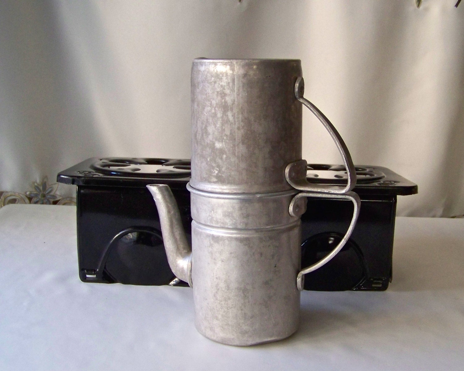 Vintage Drip Coffee Maker Survivalist Coffee Pot Neapolitan