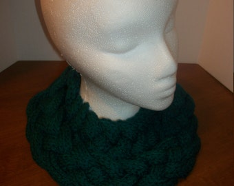 Crochet Double Braided Cowl (A31)