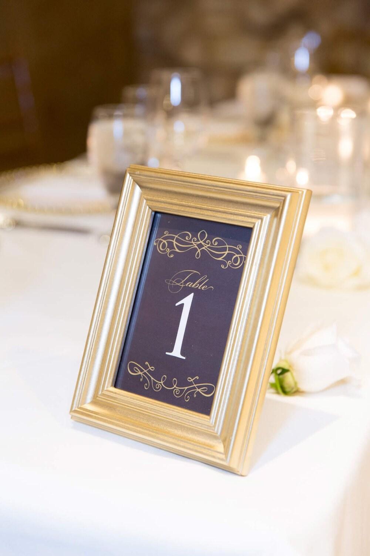 Chalkboard wedding seating chart board DIY table & by itcoa