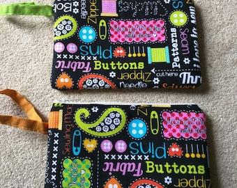 Zipper pouch sewing