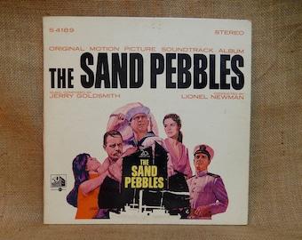 CRAZY CUPID SALE The Sand Pebbles - Original Motion Picture Soundtrack - 1966 Vintage Vinyl Gatefold Record Album
