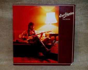 ERIC CLAPTON -  Backless - 1978 Vintage Vinyl Record Album