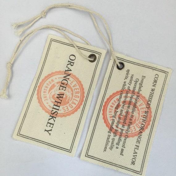 fabric hang tags