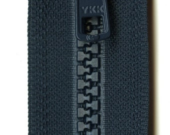 26 Inch Navy Vislon 1-Way Separating Zipper From YKK