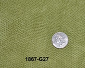 Andover Dimples Quilting Fabric Sold by the Half Yard, Blenders, Green G27