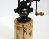 Pepper mill, spalted hackberry