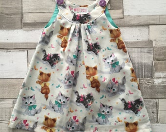 Toddler Ava Cat Dress Age 1 year