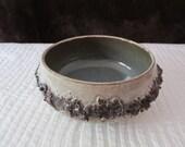 Vintage Glit Island, Iceland Lava Art Pottery Bowl