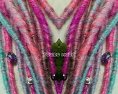 10 Dreads Custom order you choose the color