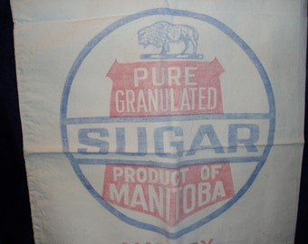 Sugar Sack, Bison, The Manitoba Sugar Co.
