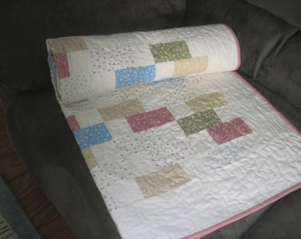 Baby building blocks quilt