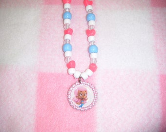Molly from Bubble Guppies Inspired Bottle Cap Necklace