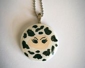 Cow Print Ninja Necklace
